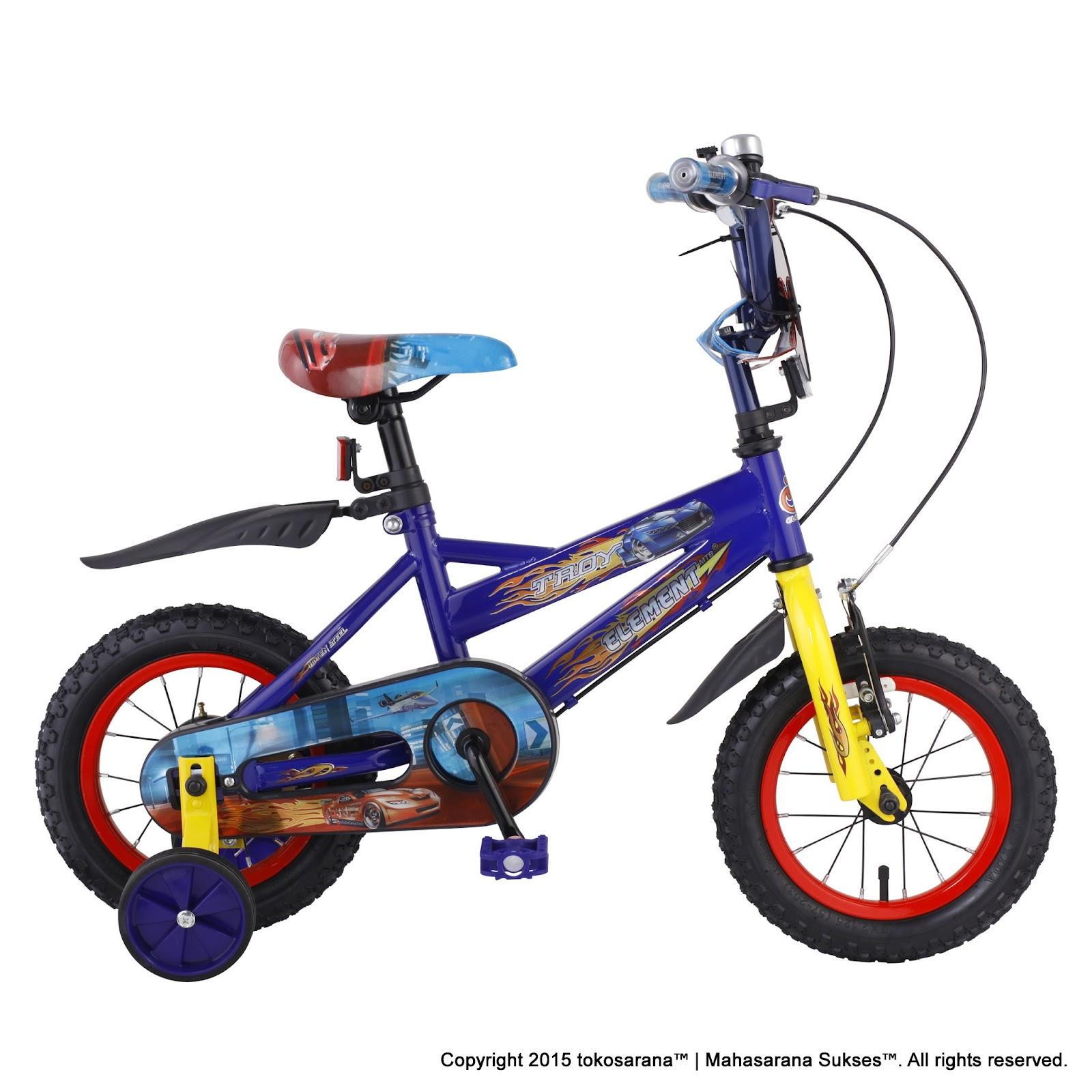Sepeda Anak Laki-Laki Element Troy BMX 12 Inci 5be4b30256