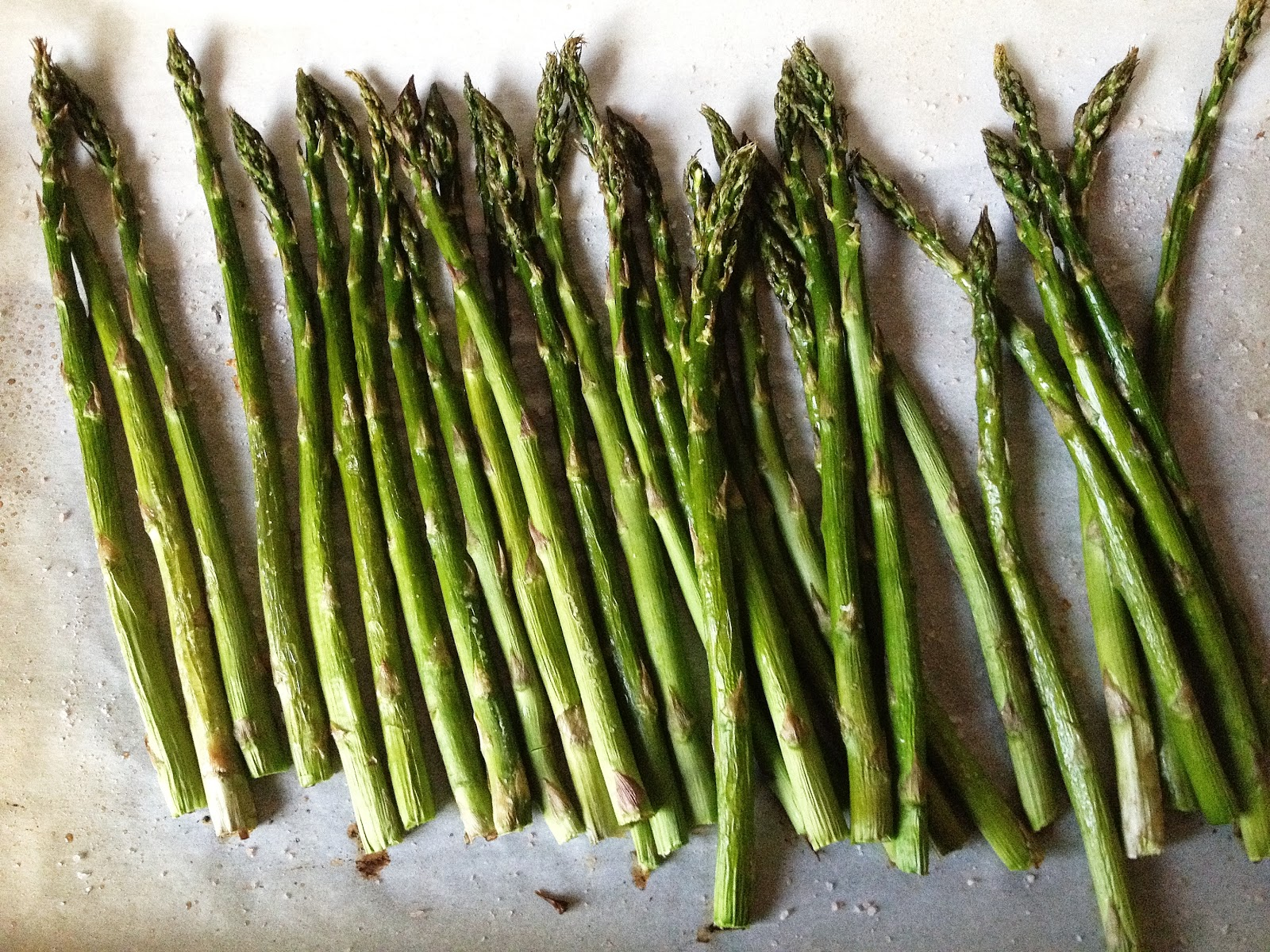 Salty, Crispy, Roasted Asparagus & Making Ryan Gosling Smile