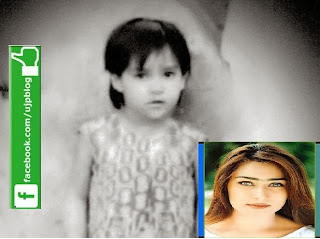 reema Khan in her childhood