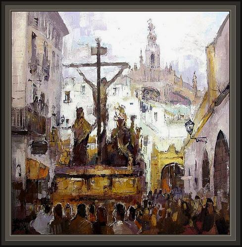 Madrigades pinturas de la semana santa de sevilla for Todo pintura sevilla