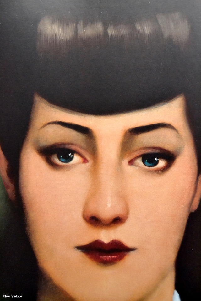 Sean Young, Blade Runner, Carles gomila, pintura, cuadro, obra pictorica, estrella Damm,