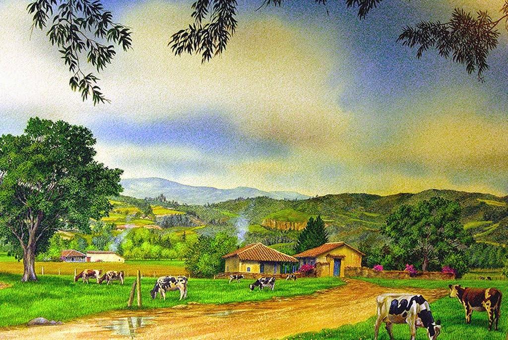 paisajes-de-pueblos-pintados-con-acuarela