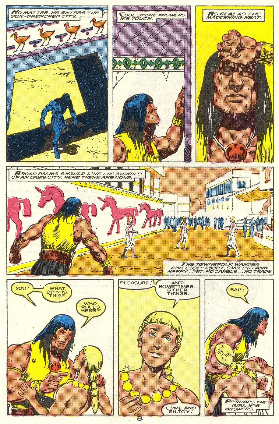 Conan the Barbarian (1970) Issue #214 #226 - English 7