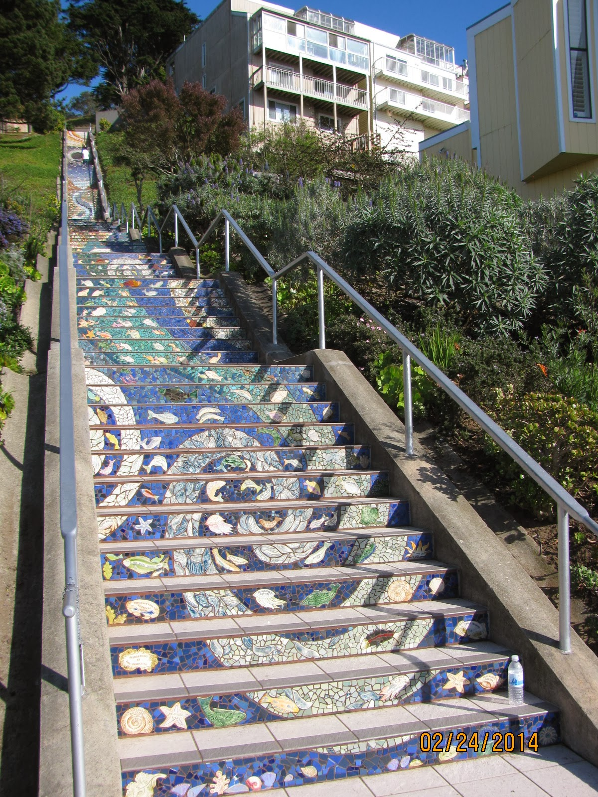 16th Street Stairs- View From the Bottom