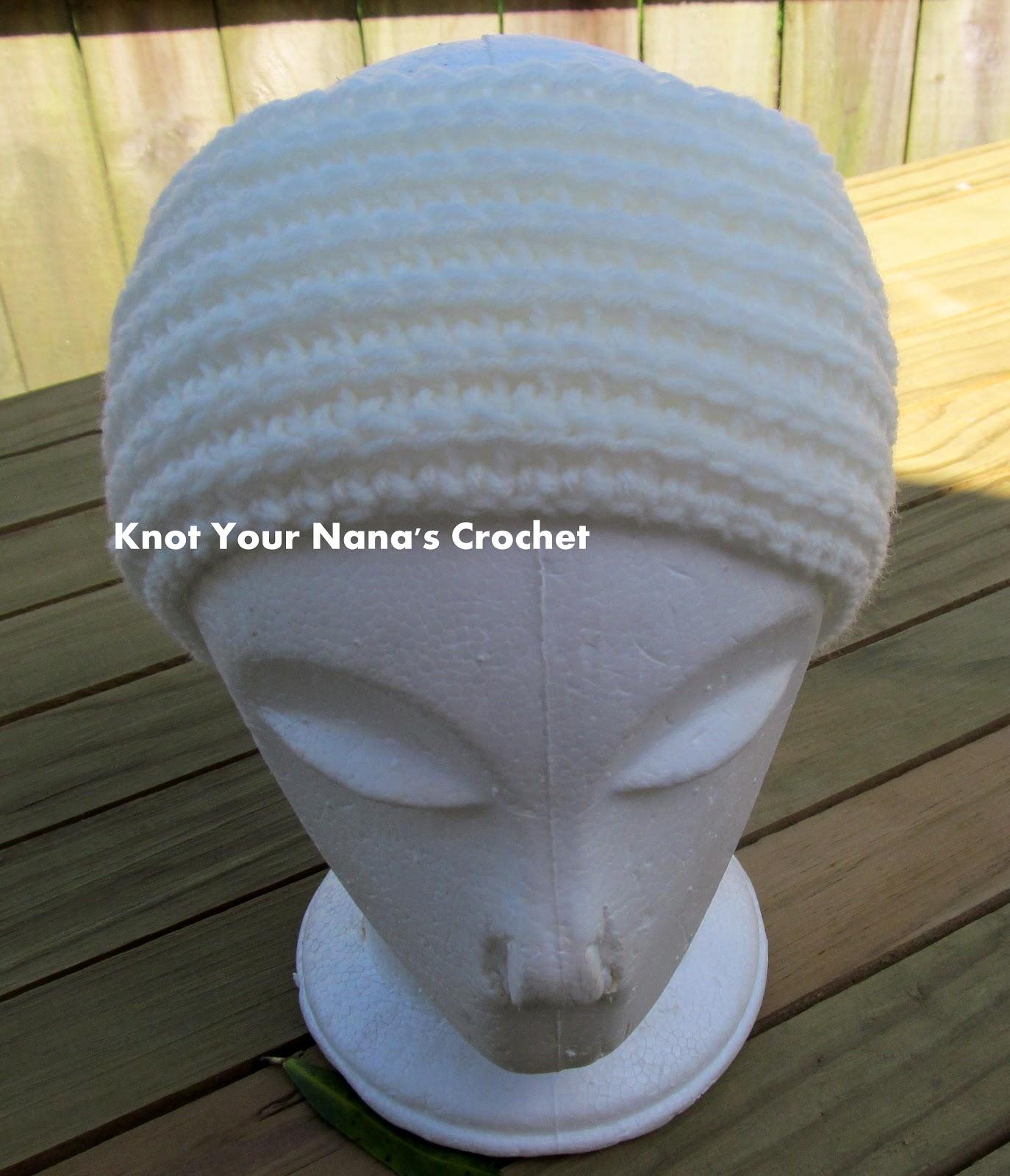 Knot Your Nanas Crochet: Camel Stitch Ear Warmer (knit look)