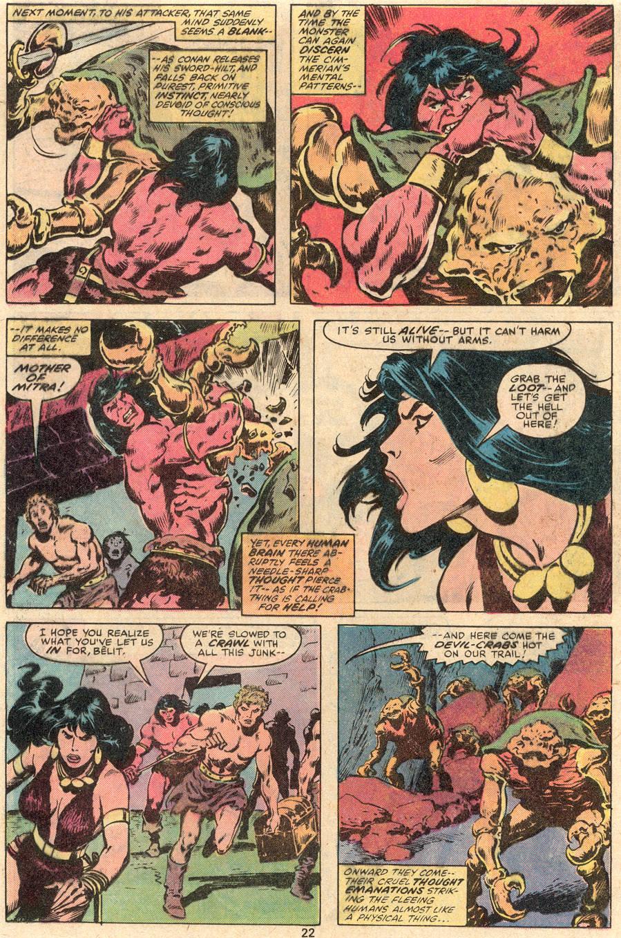 Conan the Barbarian (1970) Issue #99 #111 - English 13