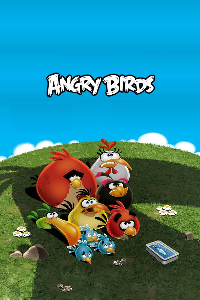 Angry birds телефон