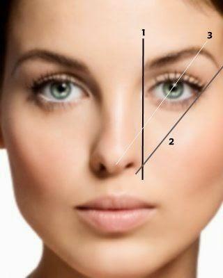 simetria ceja