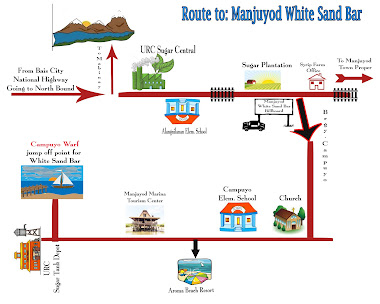 Route To White Sand Bar