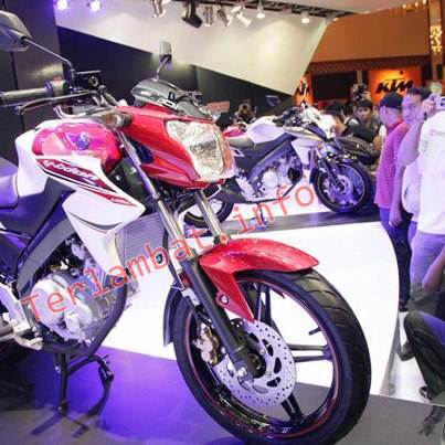 New Vixion Warna Merah Putih