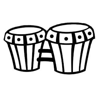 Instrumentos Musicales Para Colorear  Dibujos De Instrumentos Para