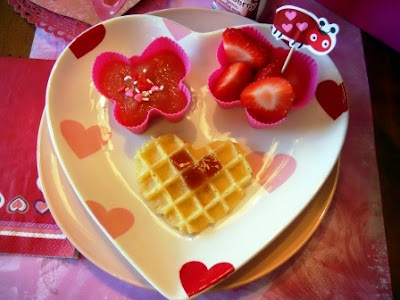 Valentine's meals for kids