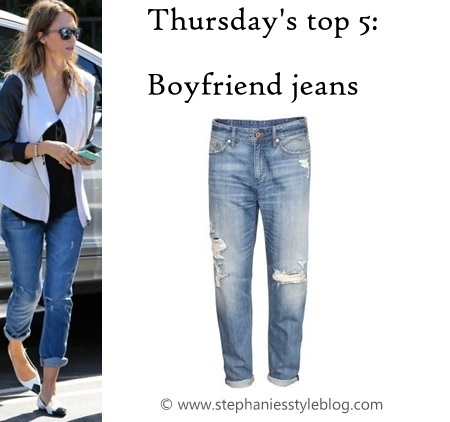 stephanies styleblog thursdays top 5 boyfriend jeans