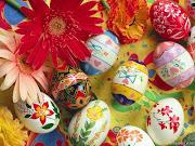 Uno de estos primeros cristianos, se acordó un día de Pascua, . huevos de pascua