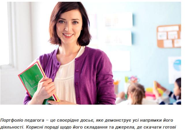Портфоліо вчителя
