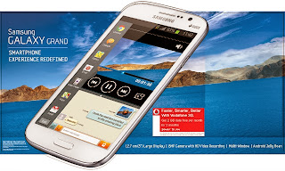 Galaxy Grand DUal SIm android phone
