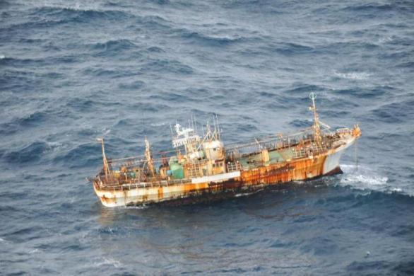 Barco fantasma japones tsunami