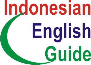 Indonesian English Guide