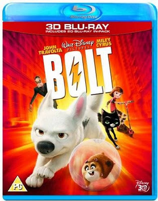 Bolt (2008) Blu Ray Rip 450 MB, bolt, bolt dvd cover, blu ray dvd cover