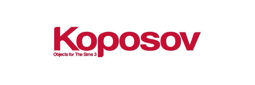 Koposov - объекты для The Sims™ 3