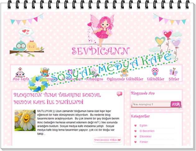 kişiye özel blogger tema tasarım