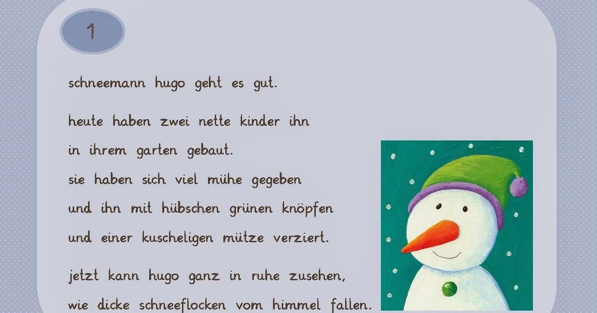 Reif für die Ferien: Abschreibkartei Schneemänner in Kleinbuchstaben