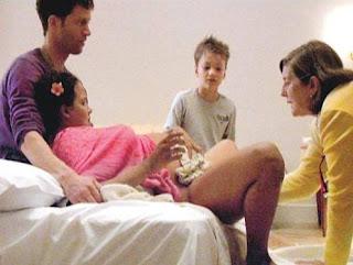 padres en parto