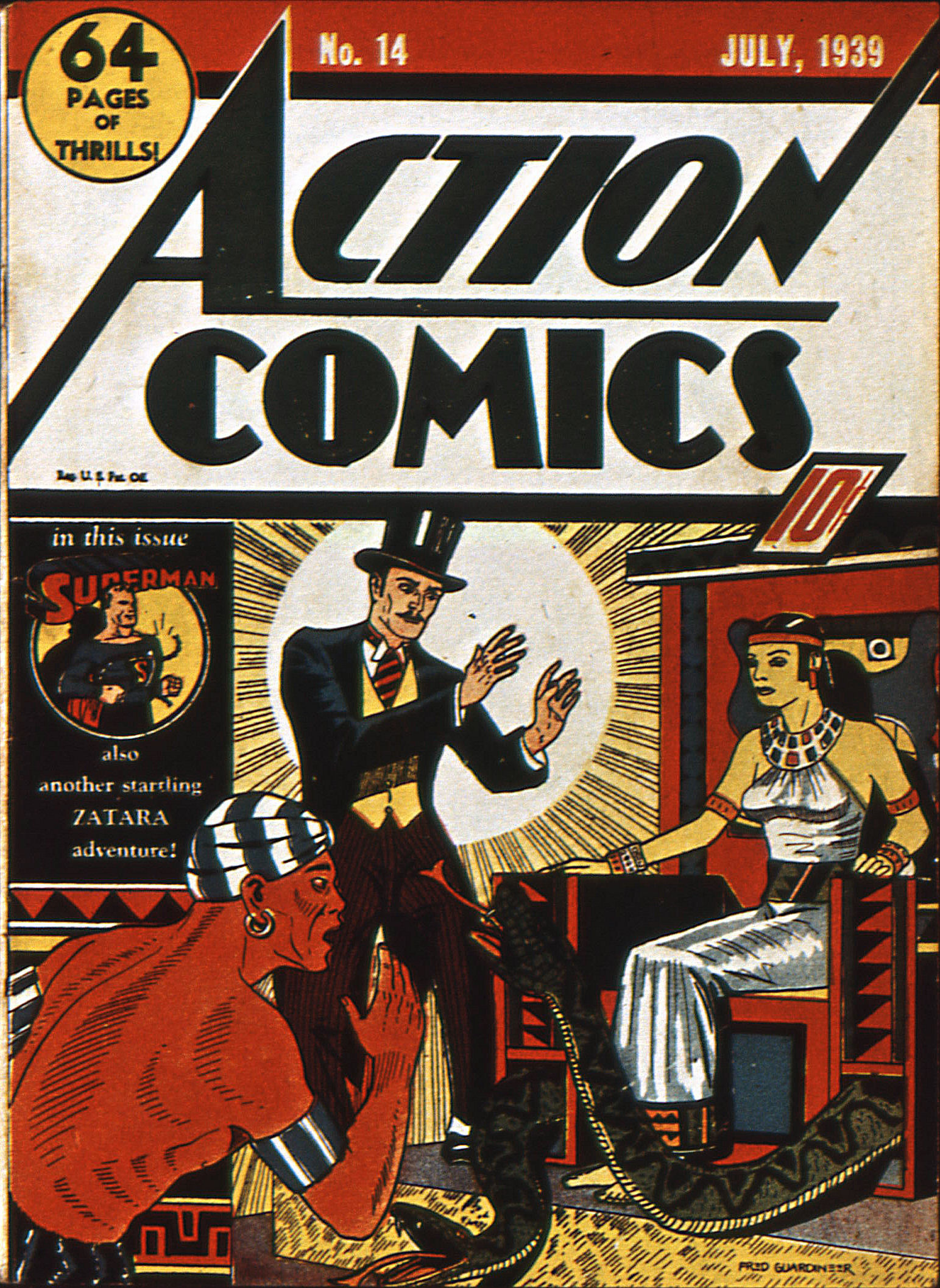 Action Comics (1938) 14 Page 1