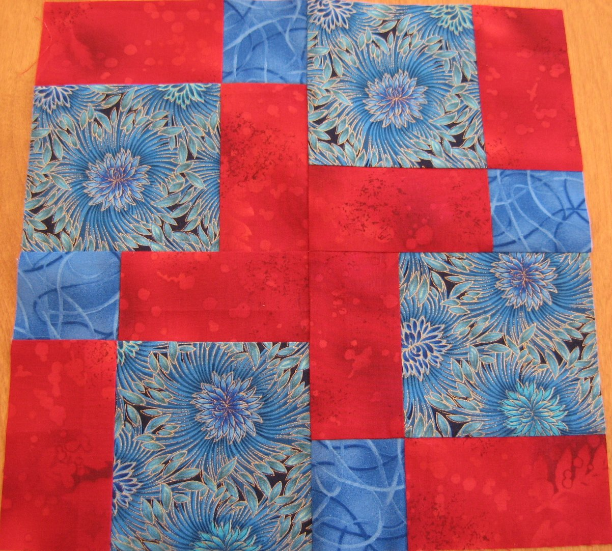 Layer Cake Quilt Along : Hooked on Needles: Layer Cake Quilt Along - Block Eight