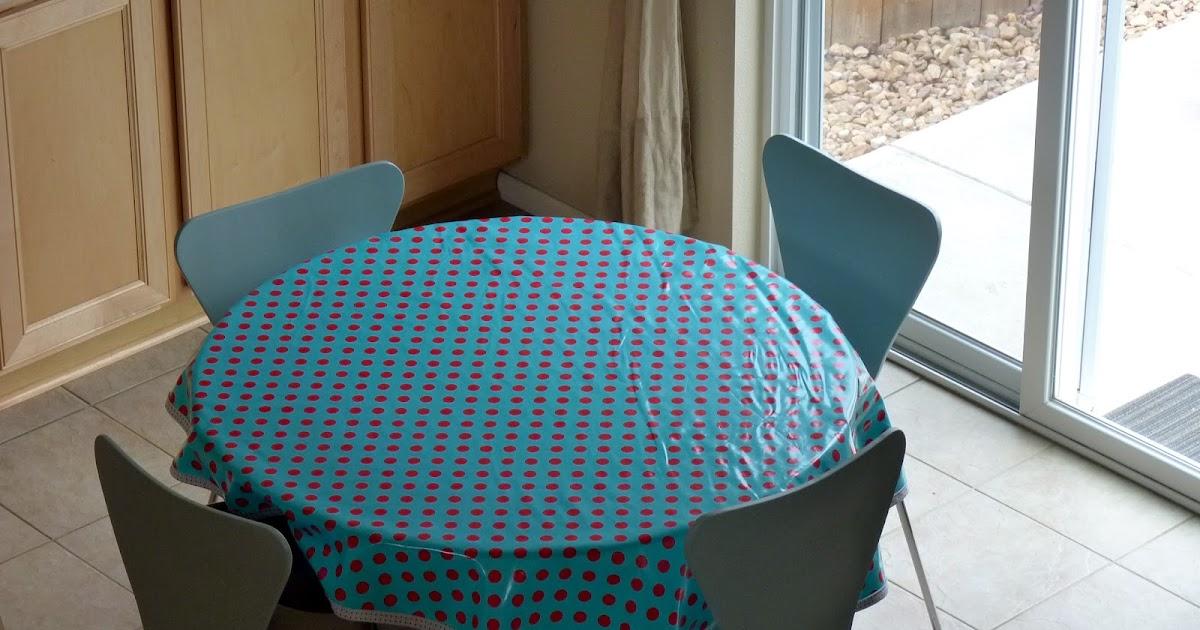 passion4creations home decor comment faire une nappe pour table ronde