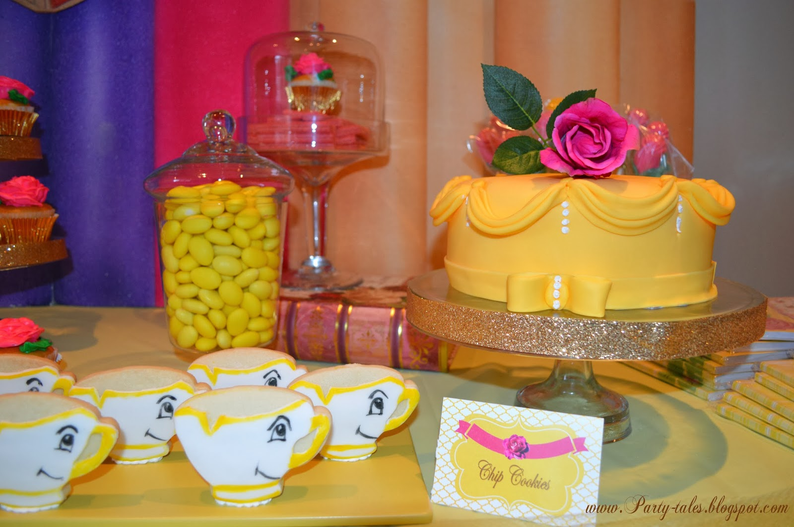 PartyTales Birthday Party BEAUTY AND THE BEAST Princess Belle