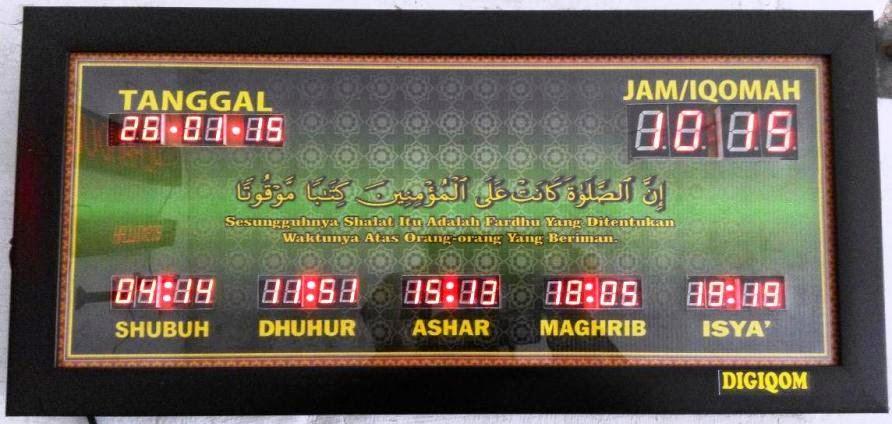 harga jam digital masjid murah - jual jam digital murah