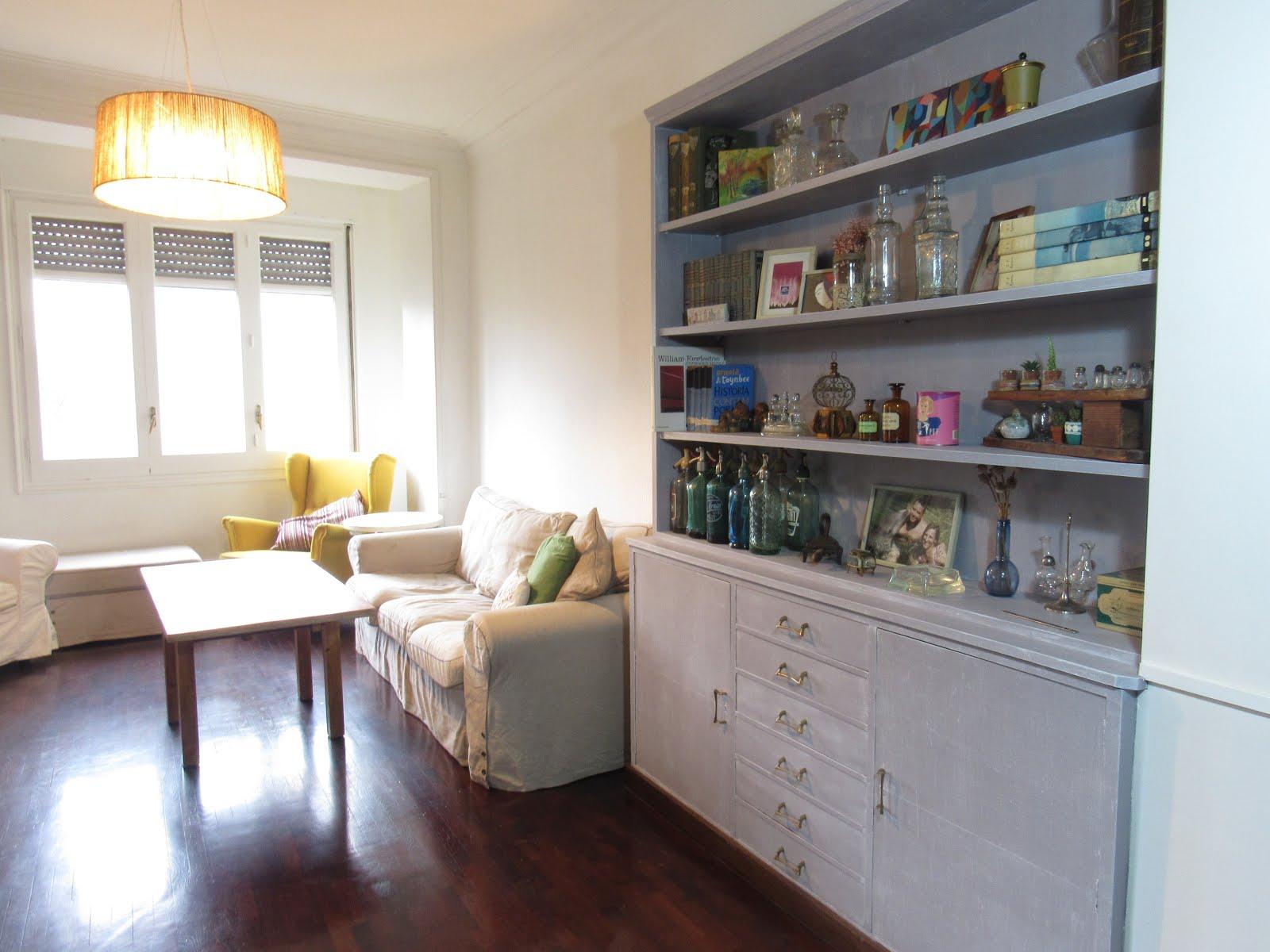 Antes Y Despu S De Un Mueble De Sal N Cl Sico Handbox Craft  # Muebles Cuanta Razon