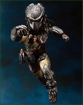 Bandai SH Monsterarts AvP Wolf Predator Figure