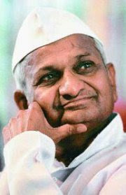 Who is Anna Hazare?