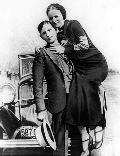 Back in The Old Days: Bonnie & Clyde