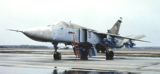 SU-24M Fencer Strike Attack Aircraft