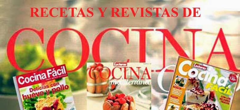 REVISTAS Y LIBROS DE COCINA