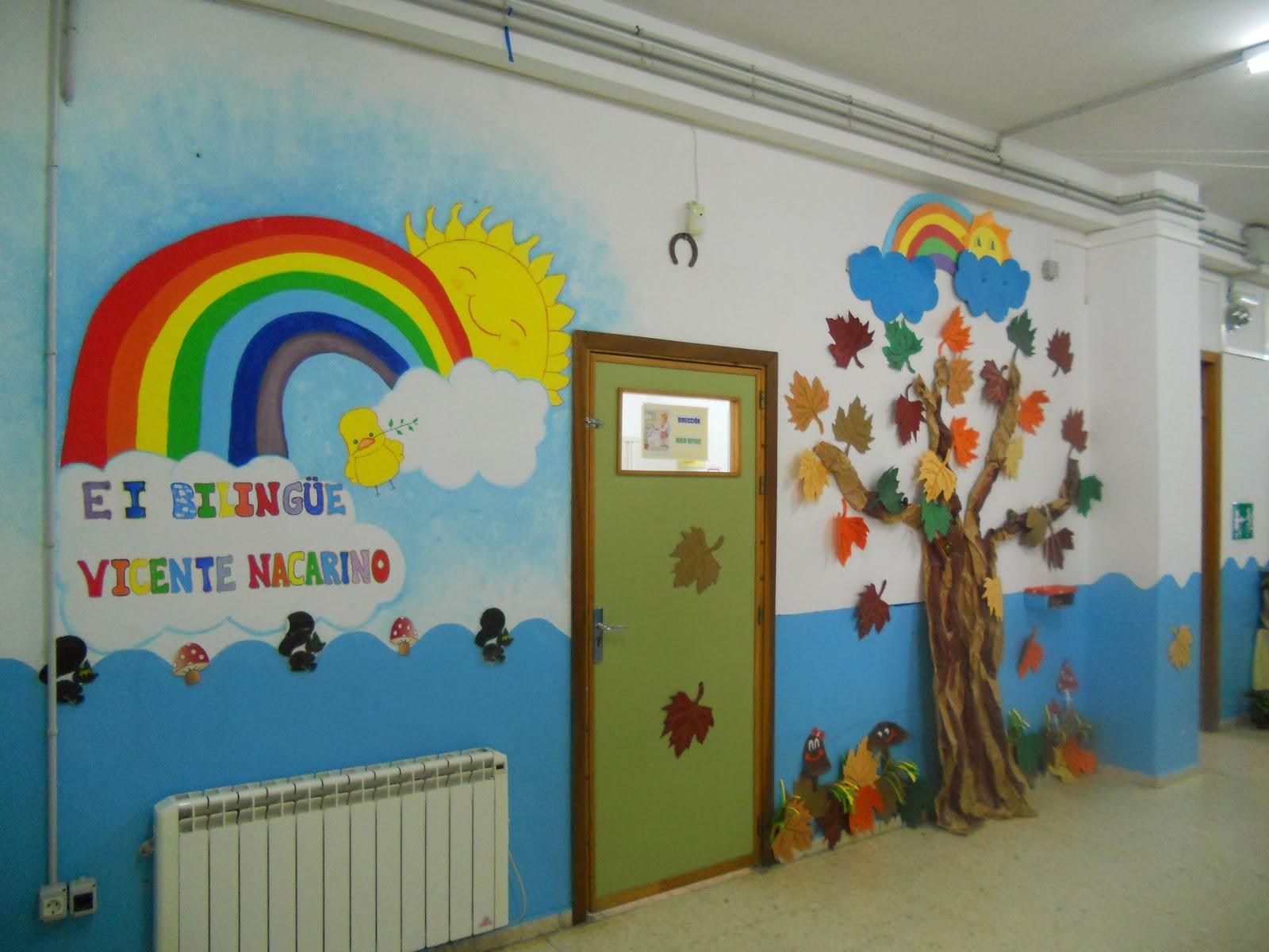 Escuela infantil biling e vicente nacarino palma del r o for Decoracion otono infantil
