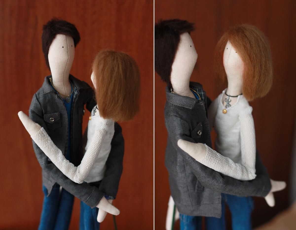 Портретные куклы по фотографии