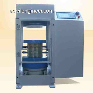 concrete compressive strength testing procedure