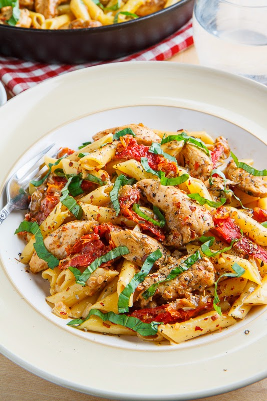 Chicken pasta recipe with sundried tomatoes