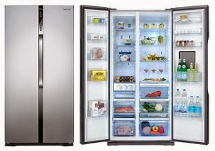 Panasonic NR-BS63VSX2 630 Ltr Side by Side Refrigerator (Silver) worth Rs.195000 for Rs.110000 Only @ Flipkart (Lowest Price)