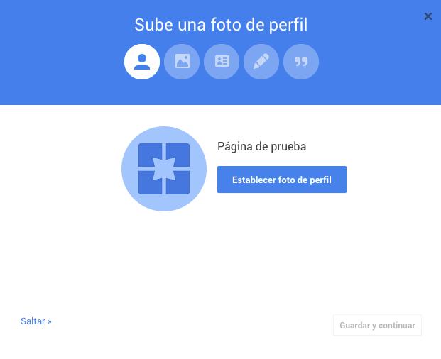 Cómo crear la página de Google Plus para tu blog