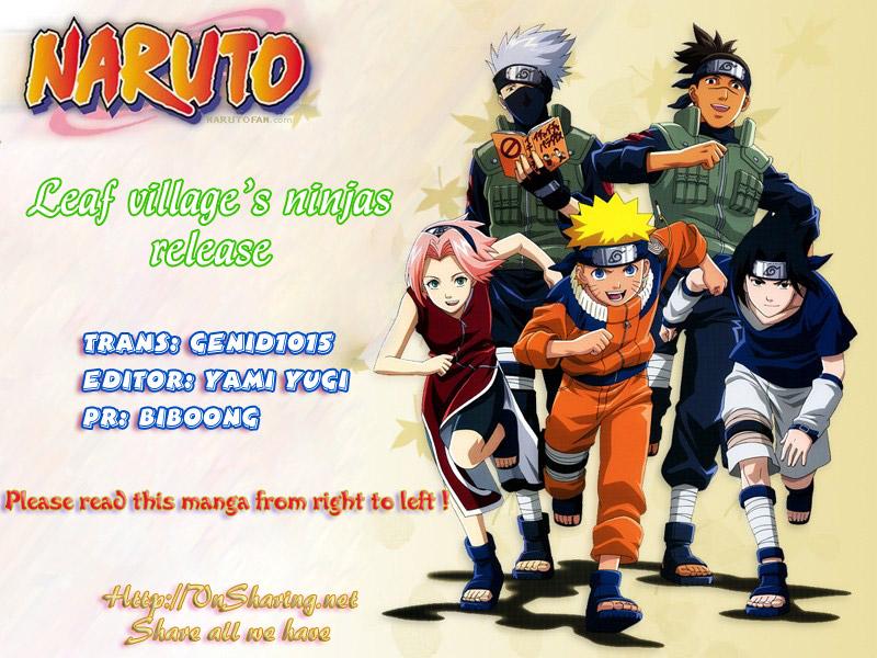 Naruto chap 399 Trang 1 - Mangak.info