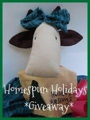 Homespun Holidays Giveaway