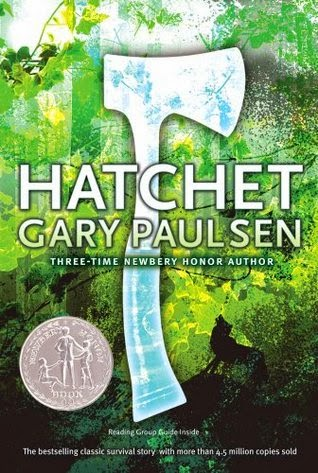 the cover of Hatchet by Gary Paulsen