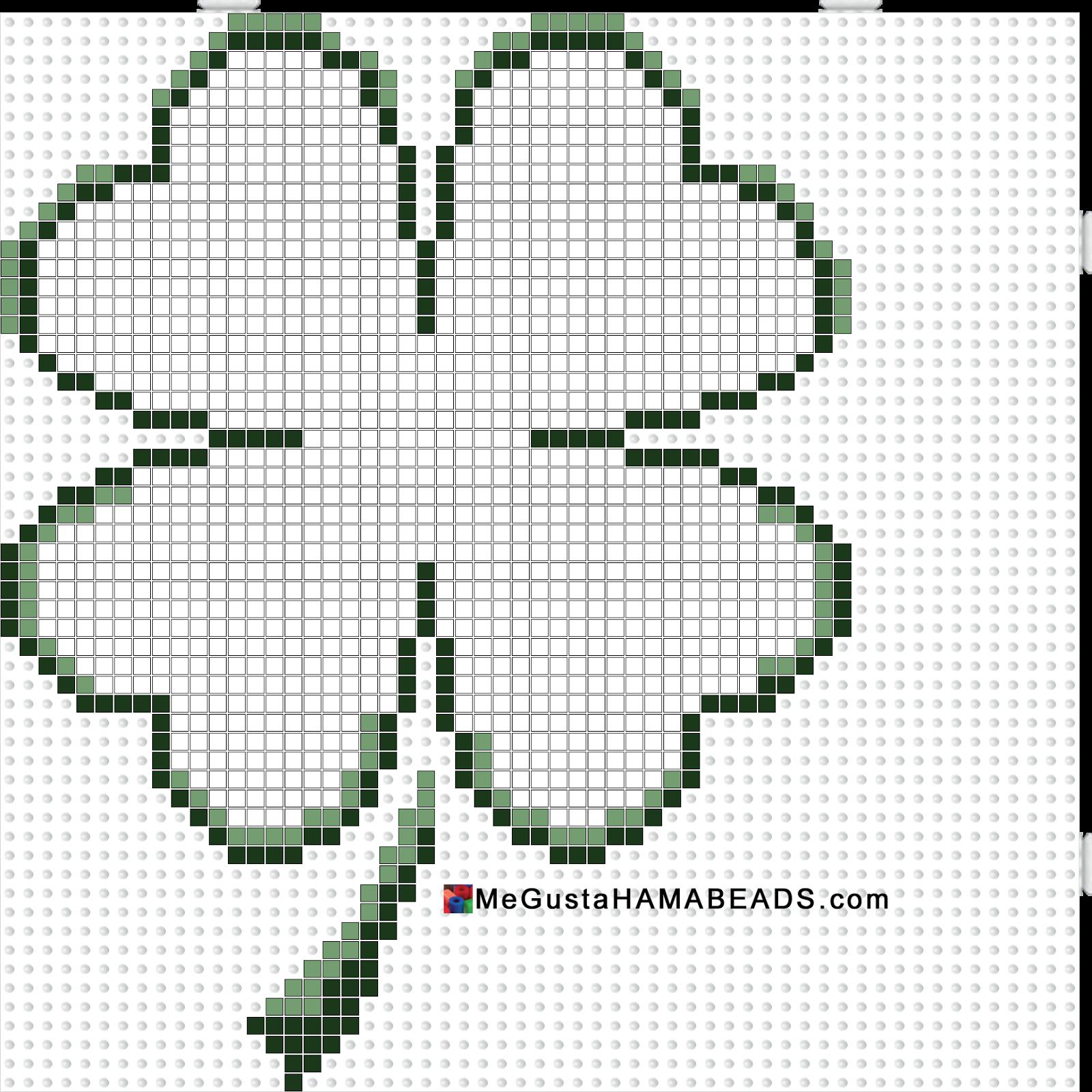 MeGustaHAMABEADS.com: Hama Beads Plantillas Estelada, Garfield, Jeep ...