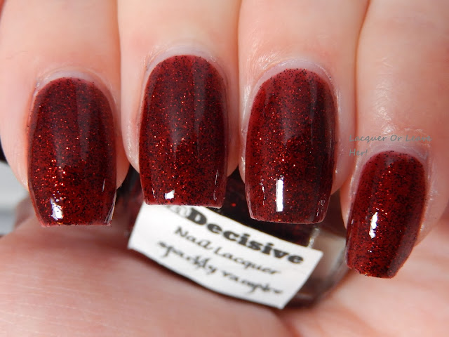 Lacquer or Leave Her!: Before & After: Sparkling Diamonds