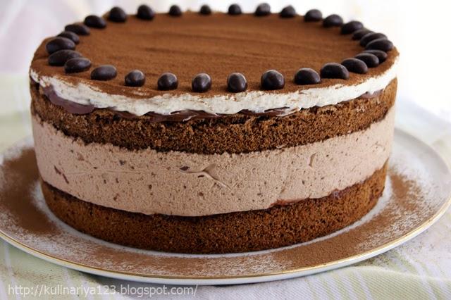 Торт из печенья и сгущенки  рецепт с фото пошагово Как